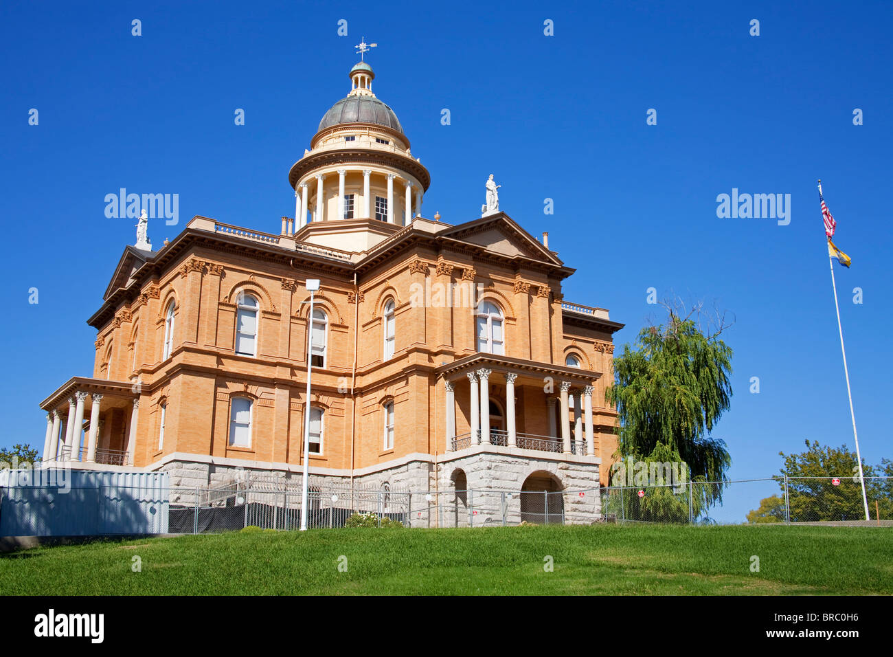 Placer County Courthouse in Auburn, California, USA - Stock Image