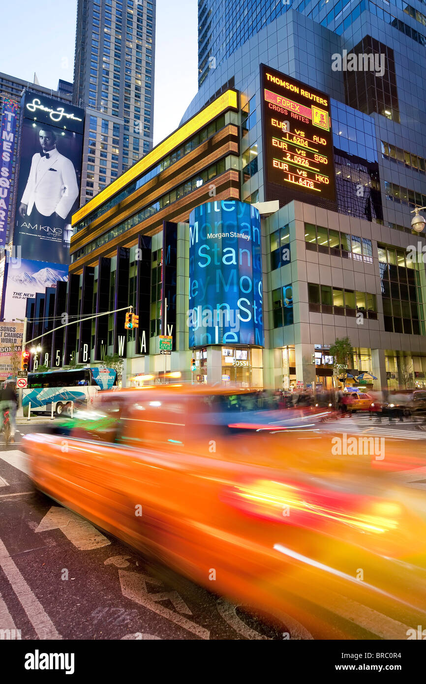 Times Square, Manhattan, New York City, New York, USA - Stock Image