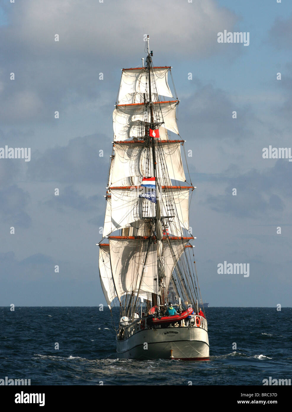 Astrid, The Tall Ships Races 2010, Kristiansand - Stock Image