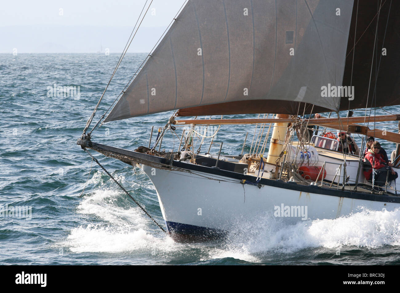 Morning Star, The Tall Ships Races 2010, Kristiansand - Stock Image