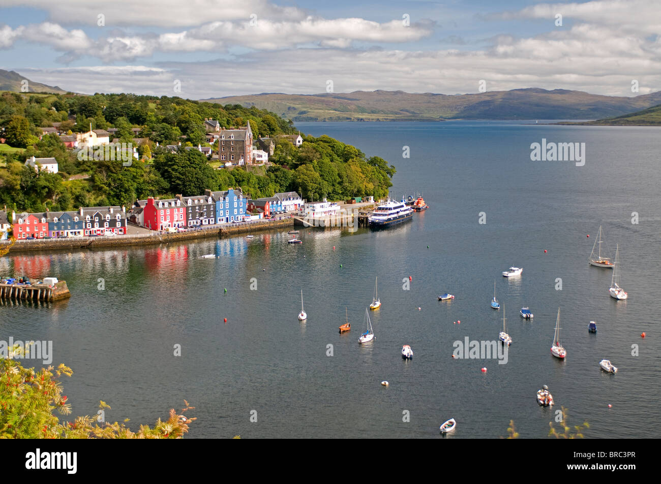 Tobermory, the island capital of Mull in the Inner Hebrides, Scotland. SCO 6716 - Stock Image