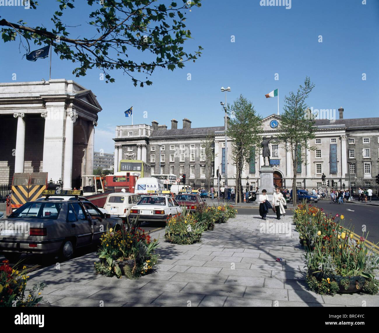Dublin, College Green, - Stock Image