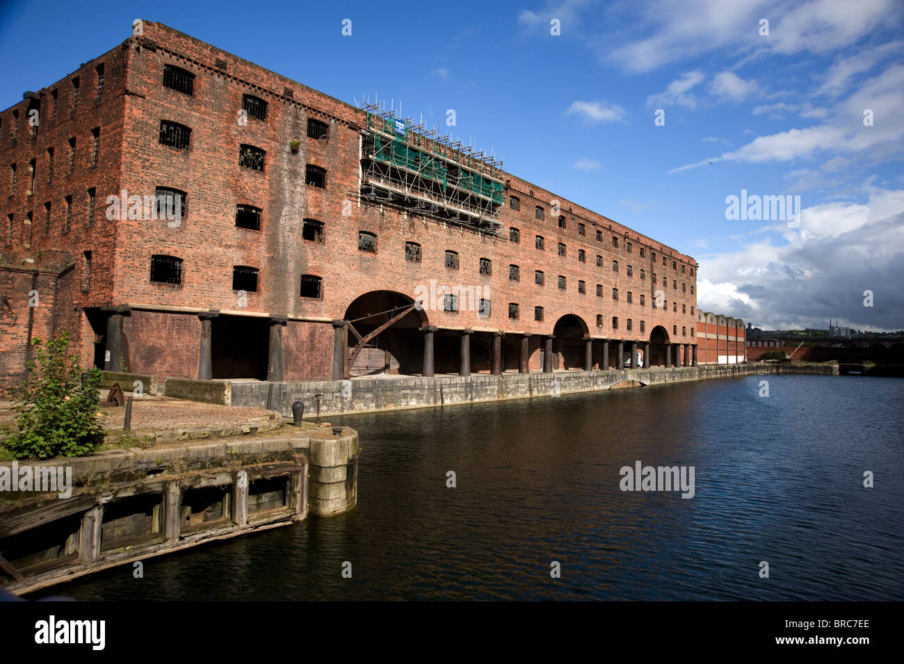 The Stanley Dock Warehouse, Liverpool Stock Photo