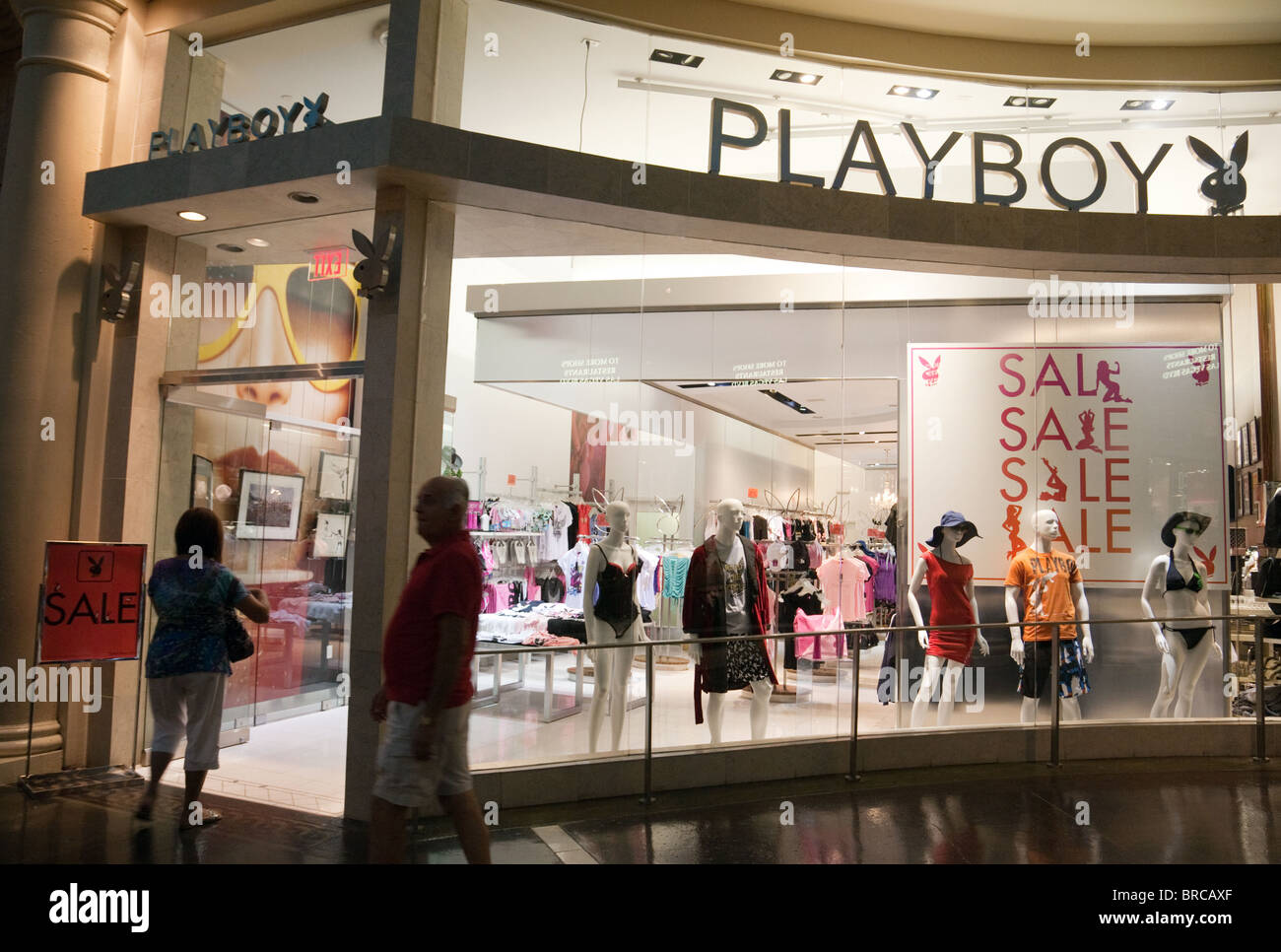 the playboy store the forum shops caesars palace hotel las vegas stock photo 31619463 alamy. Black Bedroom Furniture Sets. Home Design Ideas