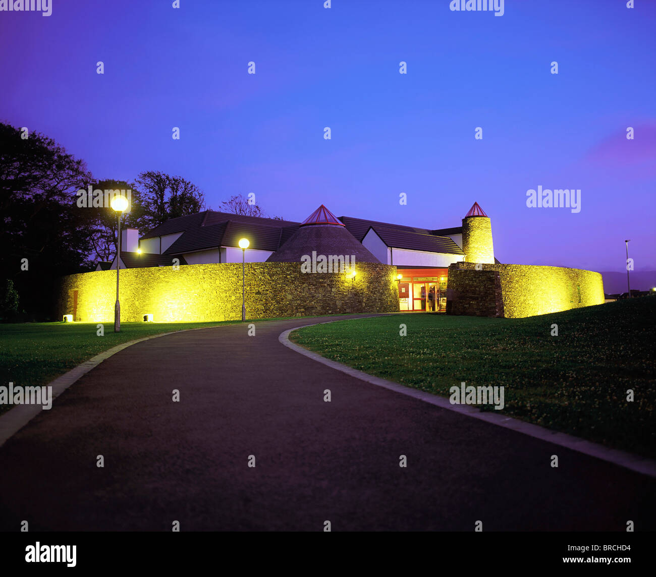 Siamsa Tire, The National Folk Theatre & Arts Centre, Tralee, Co Kerry, Ireland - Stock Image