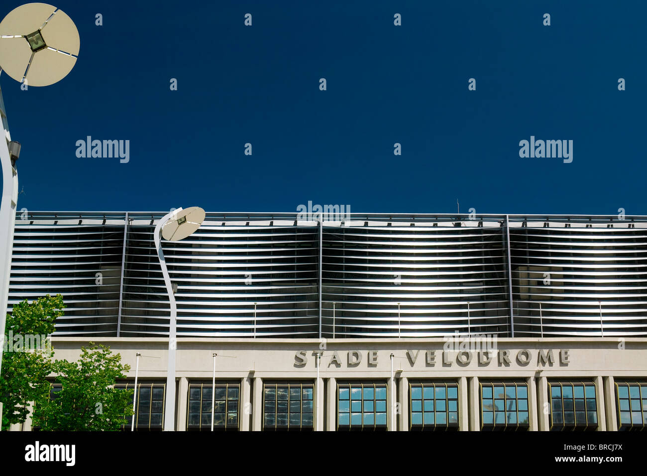 THE STADE VELODROME, MARSEILLE, FRANCE - Stock Image