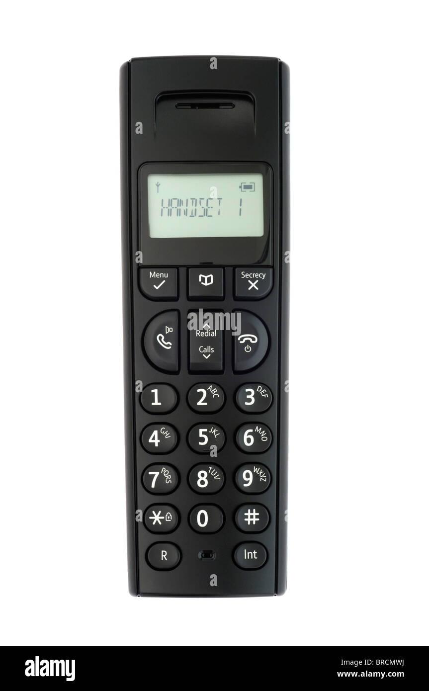 Digital cordless phone - Stock Image