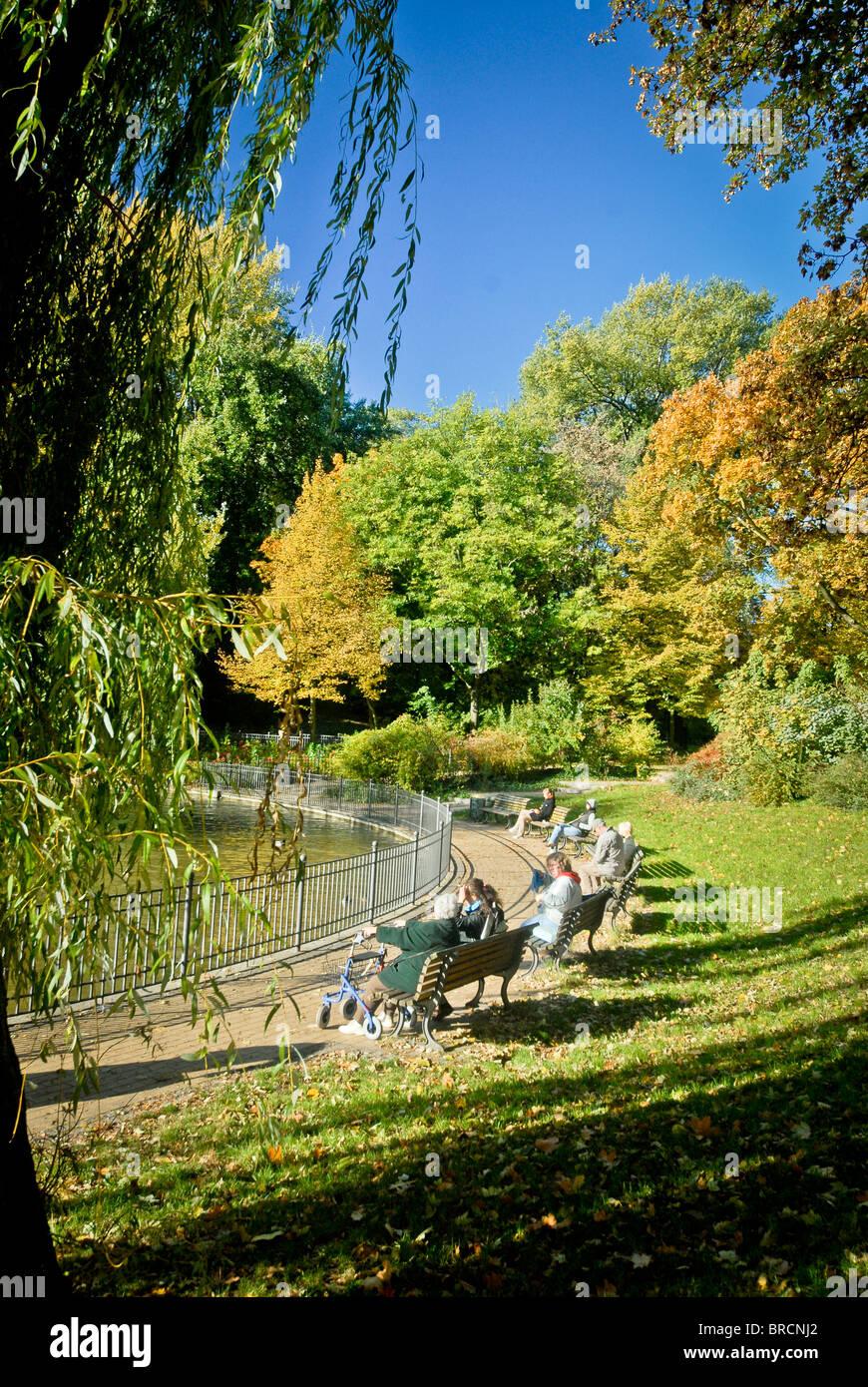 volkspark Fredrichshain, Berlin - Stock Image