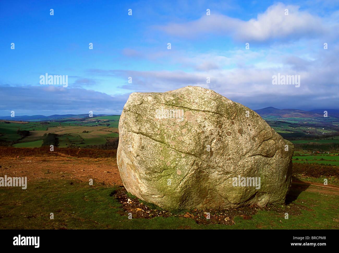 Motty Stone, Avoca, Co Wicklow, Ireland - Stock Image