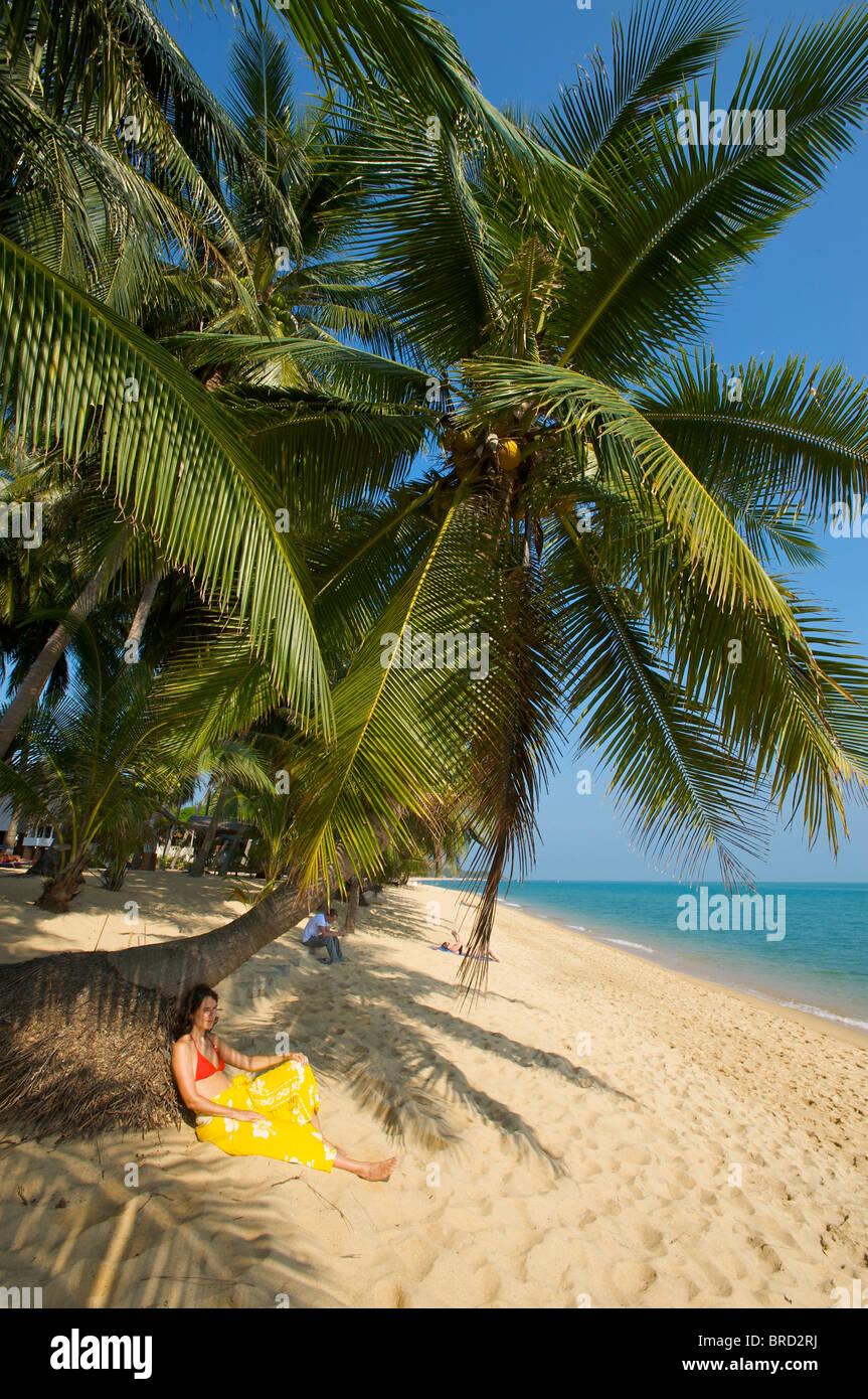 Mae Nam Beach, Ko Samui, Thailand - Stock Image