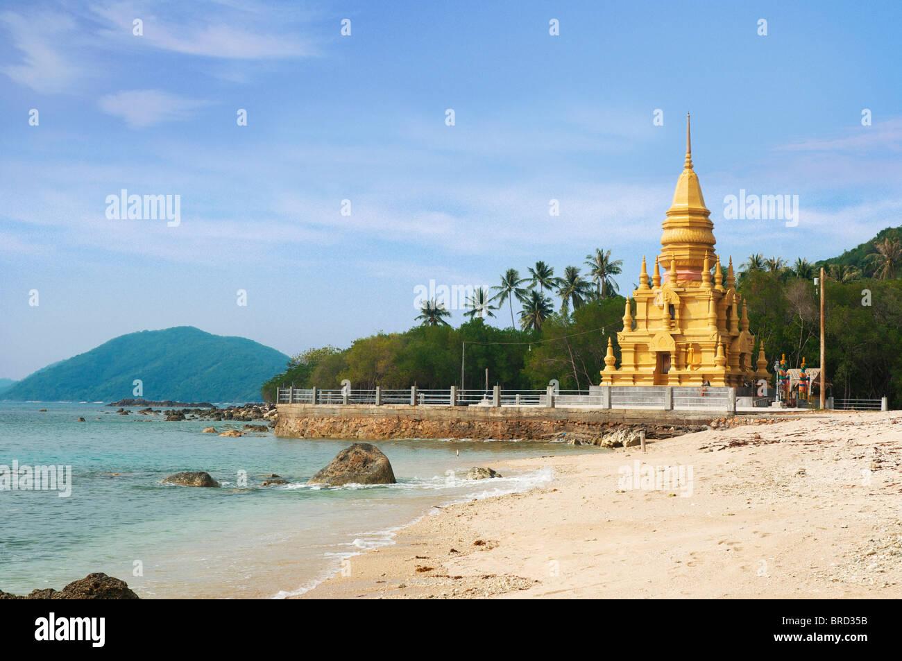 Laem Sor Pagode, Ko Samui, Thailand - Stock Image