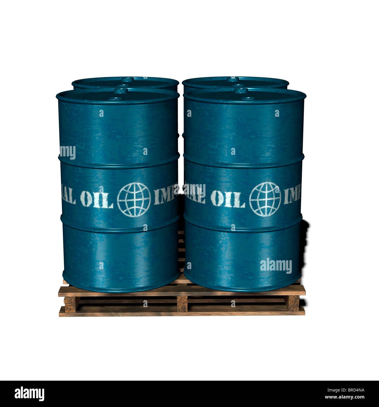 oildrum Stock Photo