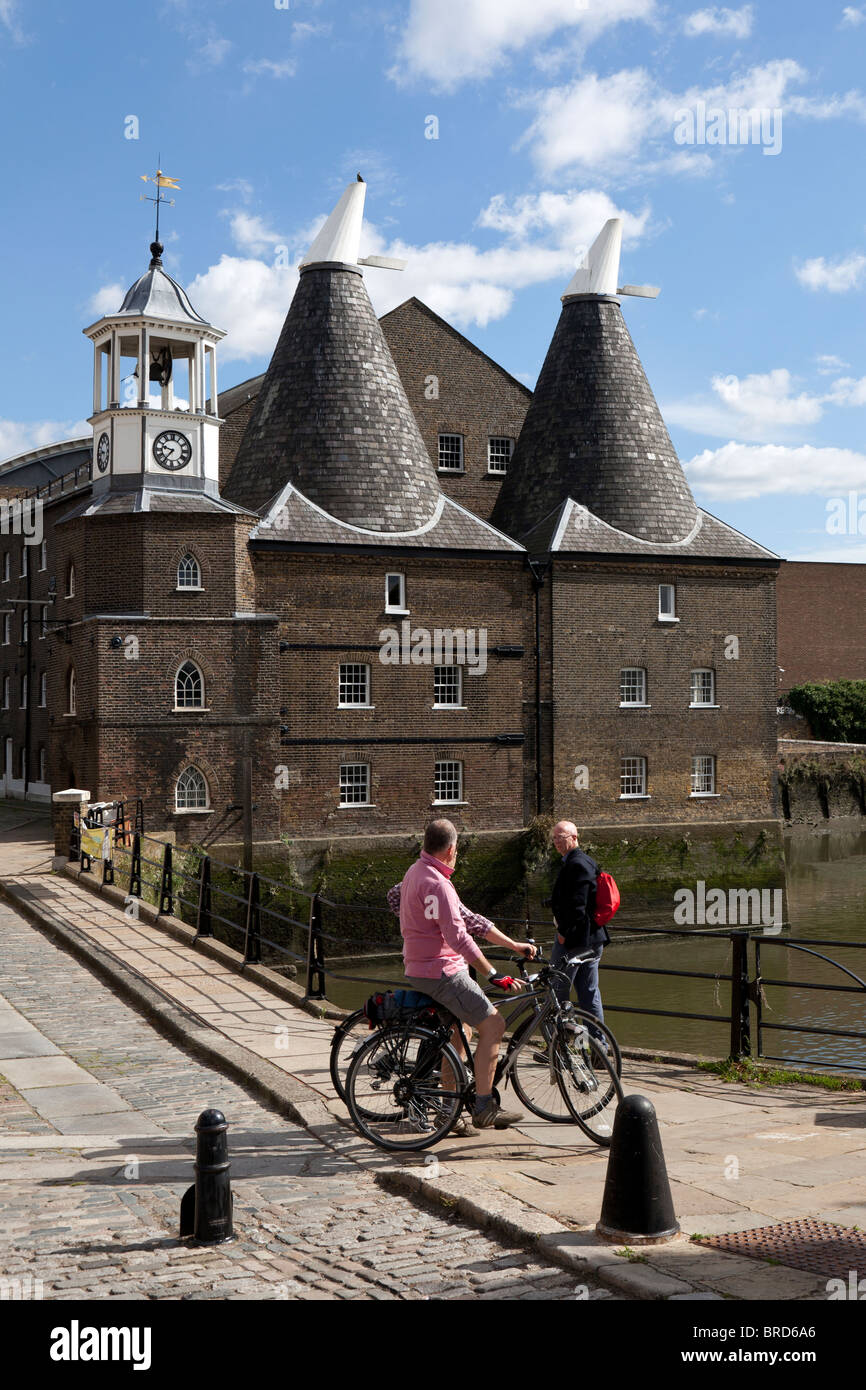 East End London: Three Mills On The River Lee In The East End Of London