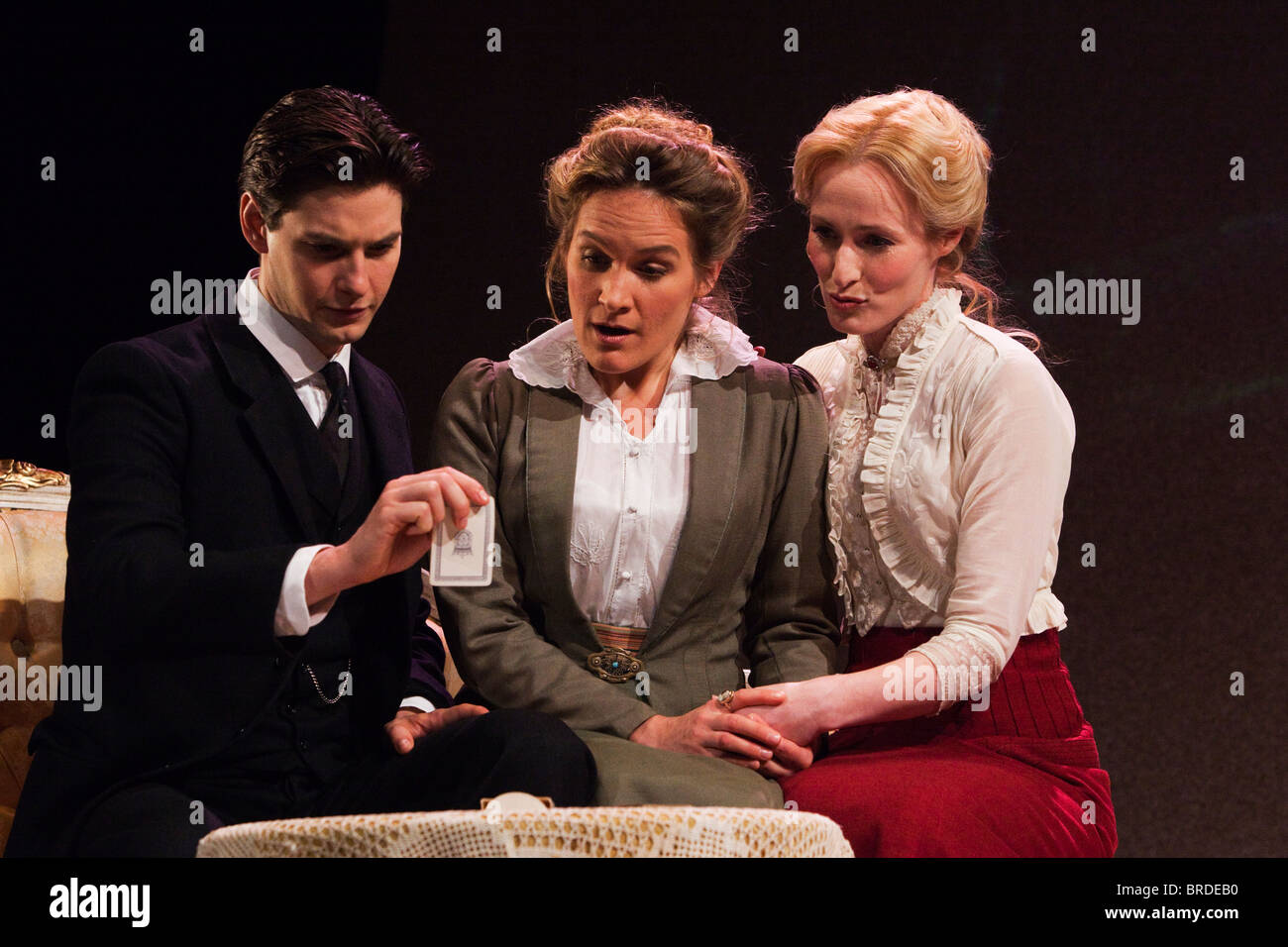 Birdsong stage play with Ben Barnes, Zoe Waites and Genevieve O'Reilly at  Comedy Theatre, London