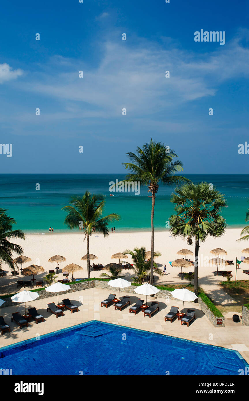 Chedi Resort am Pansea Beach, Phuket, Thailand - Stock Image