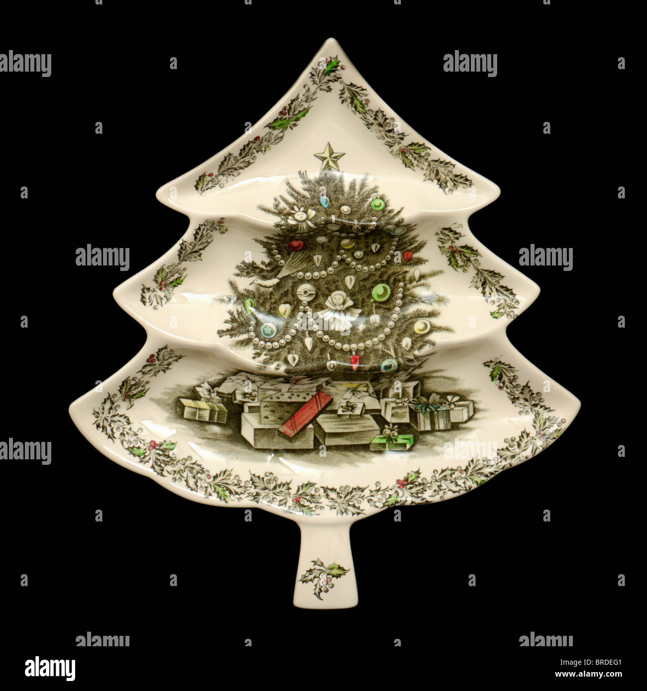Ceramic Christmas Tree Decorations.Ceramic Christmas Tree Decorations Stock Photos Ceramic