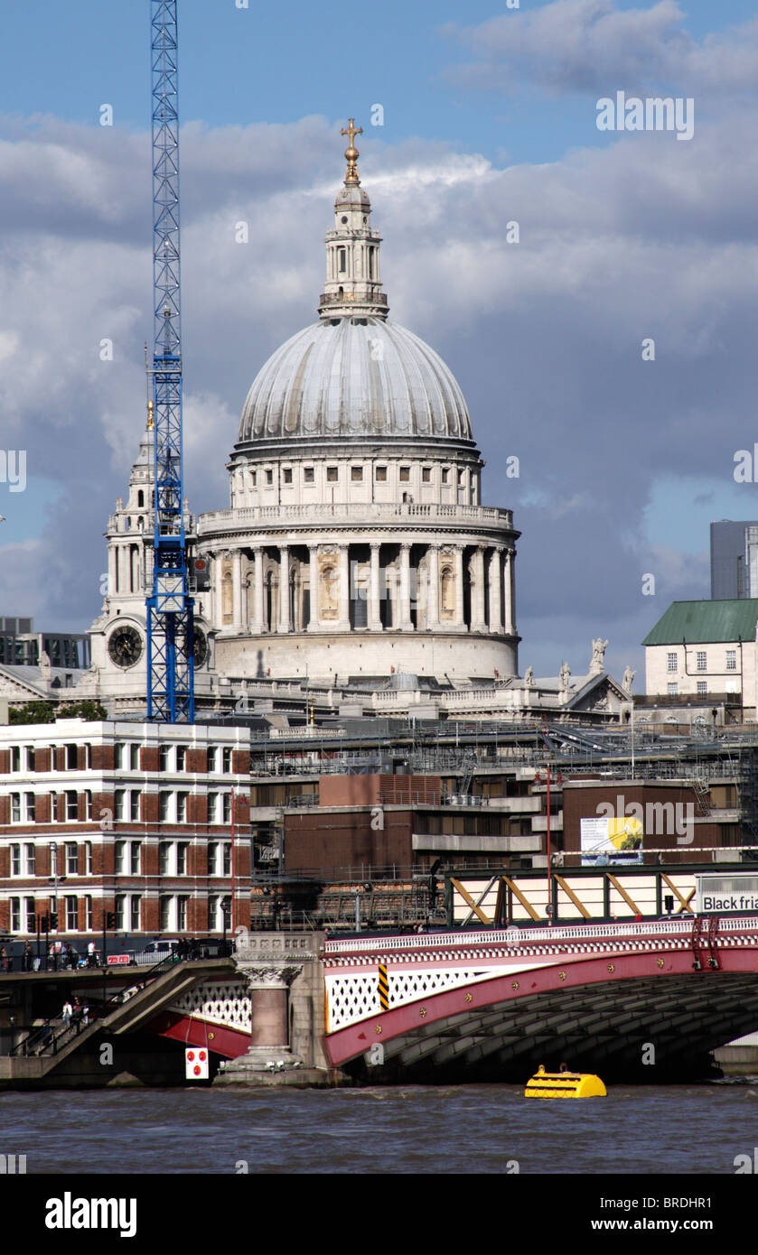St Paul's Cathedral London Stock Photo