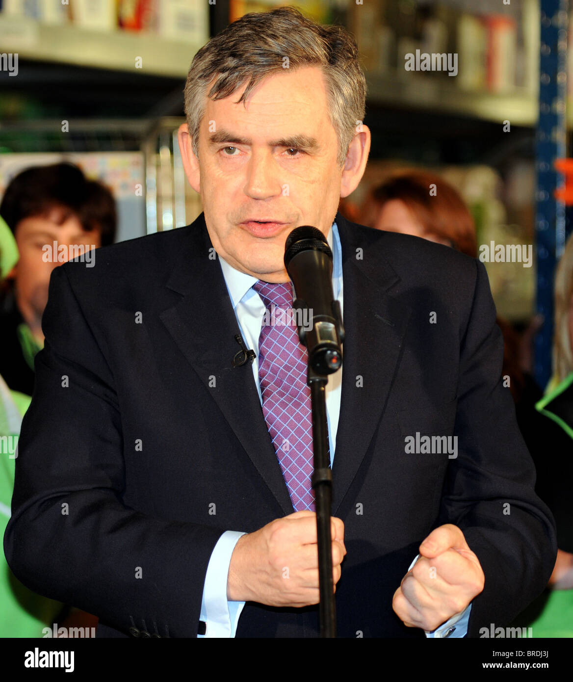 Gordon Brown MP, former 'Prime Minister' of Great Britain, UK - Stock Image