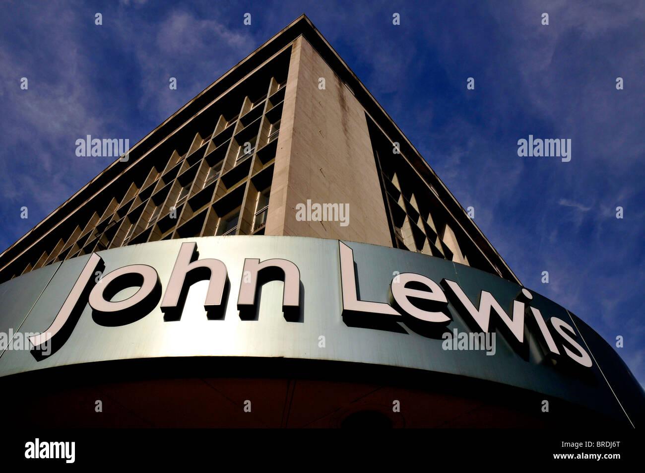 John Lewis department store in Oxford Street, London, Britain, UK - Stock Image