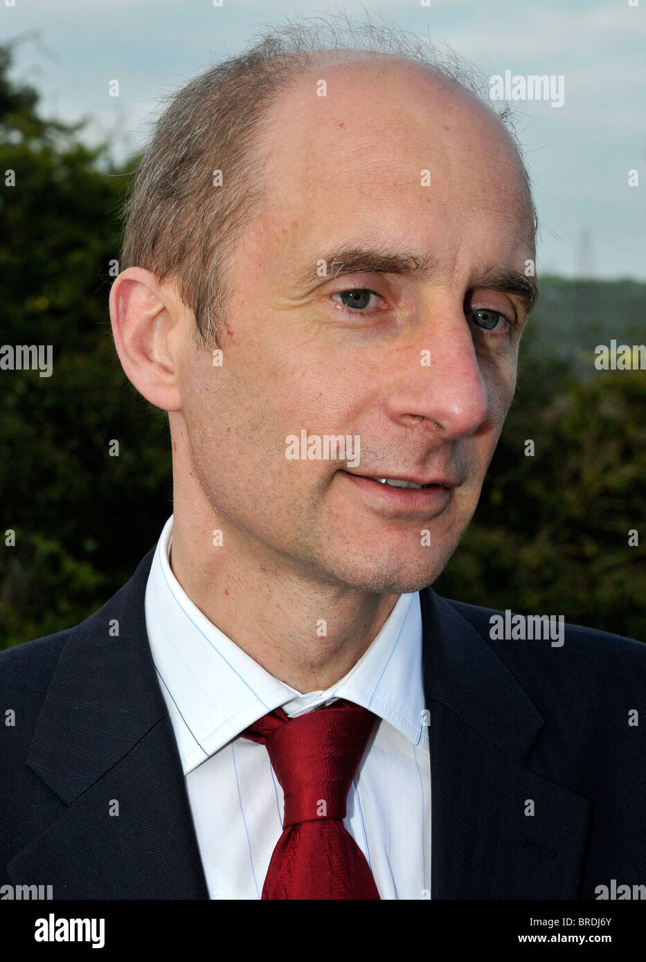 Lord Adonis, Lord Andrew Adonis, Labour politician - Stock Image
