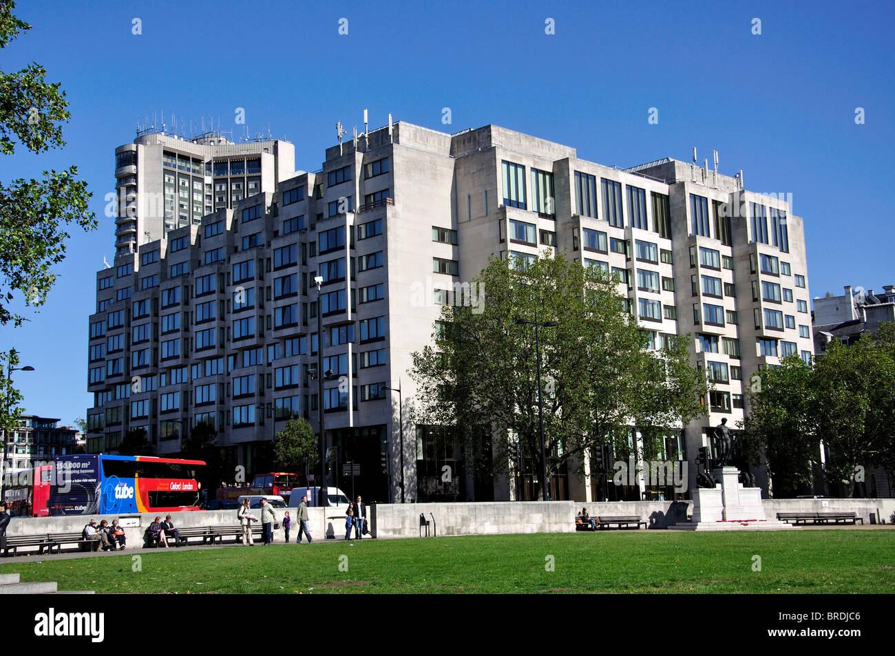 InterContinental Hotel, Hyde Park Corner, City of Westminster, London, England, United Kingdom - Stock Image