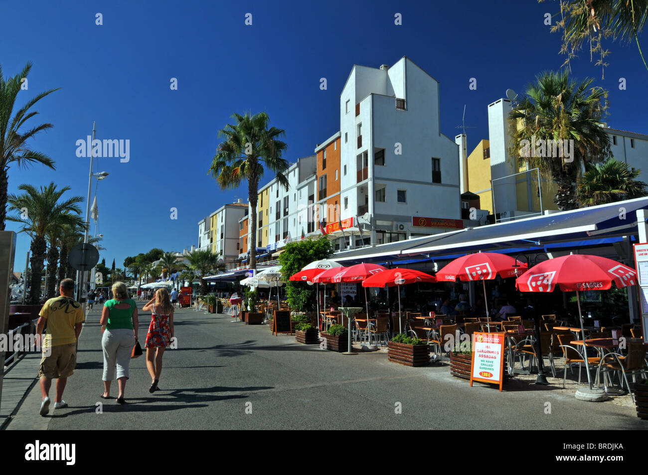 Vilamoura resort, The Algarve, Portugal - Stock Image