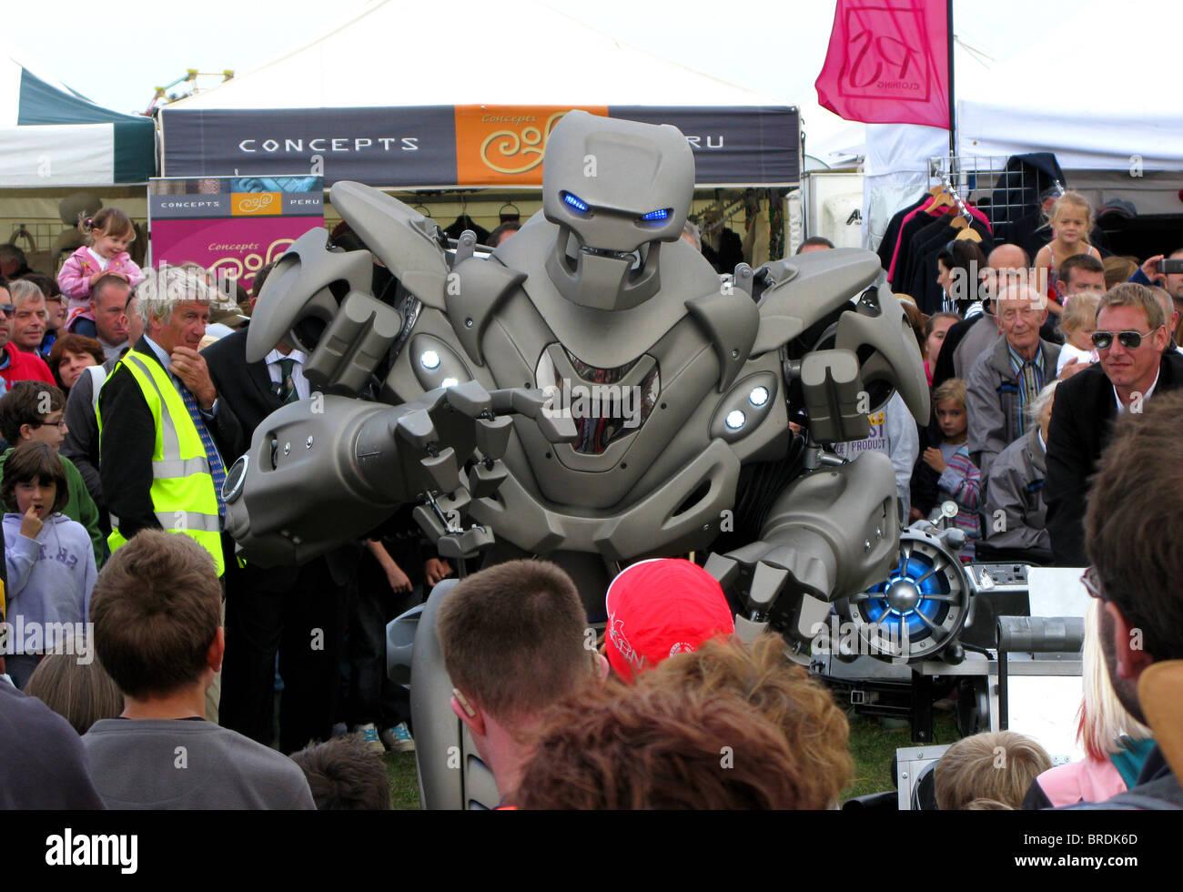 Titan the robot - Stock Image