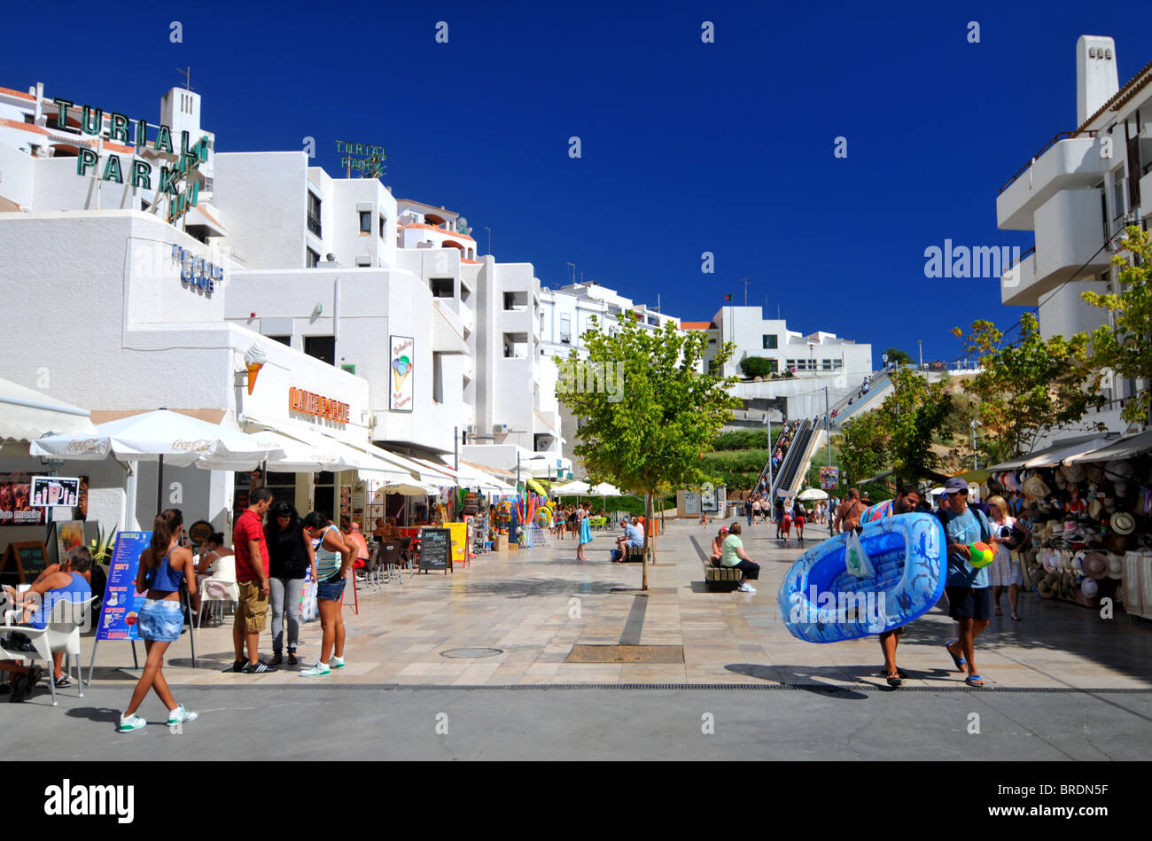 Albufeira resort, The Algarve, Portugal - Stock Image