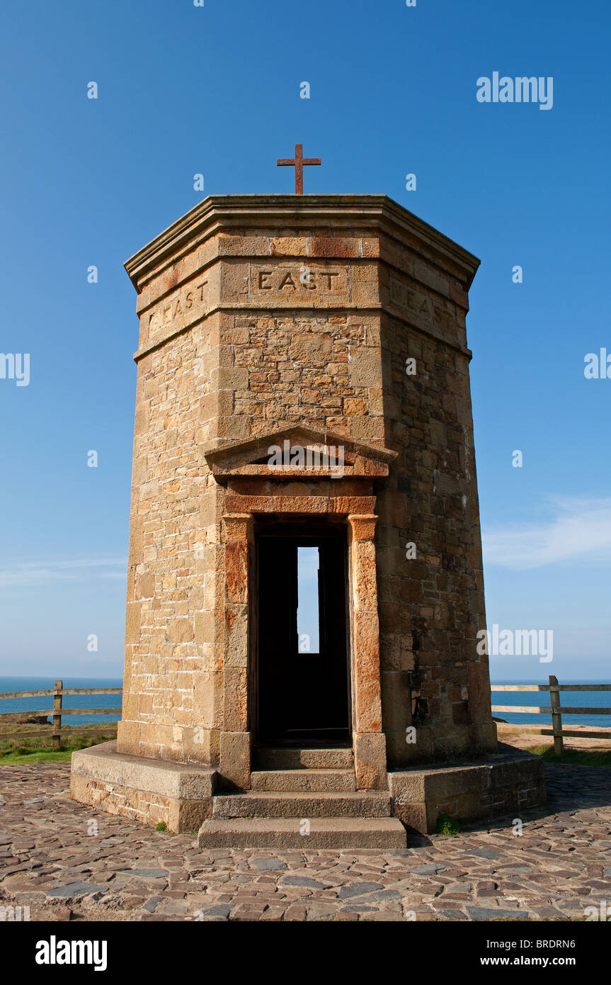 the ' tower of the winds '  at compass point, bude, cornwall, uk - Stock Image
