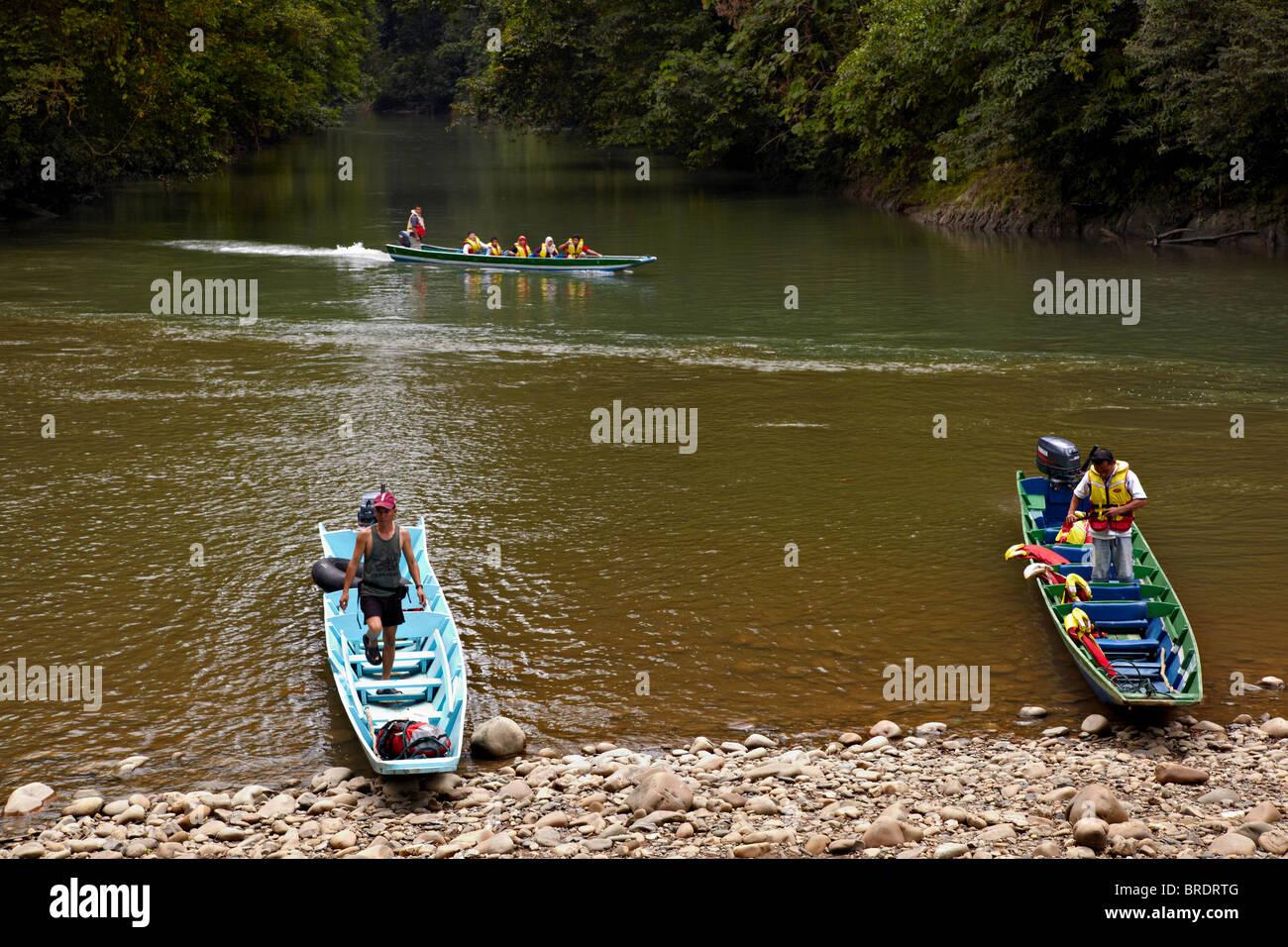 Sungai River, Ulu Temburong National Park, Brunei - Stock Image