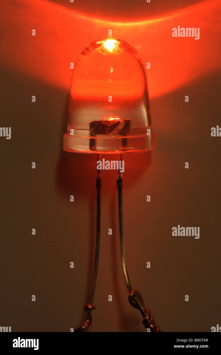 Light Emitting Diode - LED Stock Photo