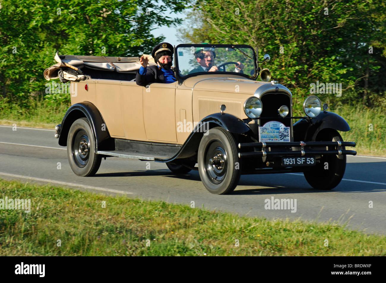 citroen c4 f torpedo 1931 in the tour de bretagne. Black Bedroom Furniture Sets. Home Design Ideas