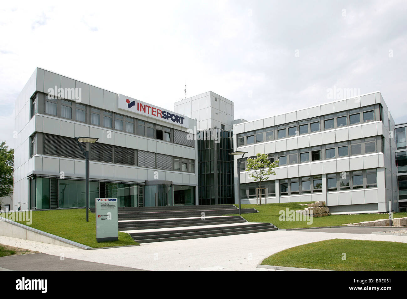 Headquarters of Intersport Deutschland eG, join of independent specialized dealers for sports equipment, in - Stock Image