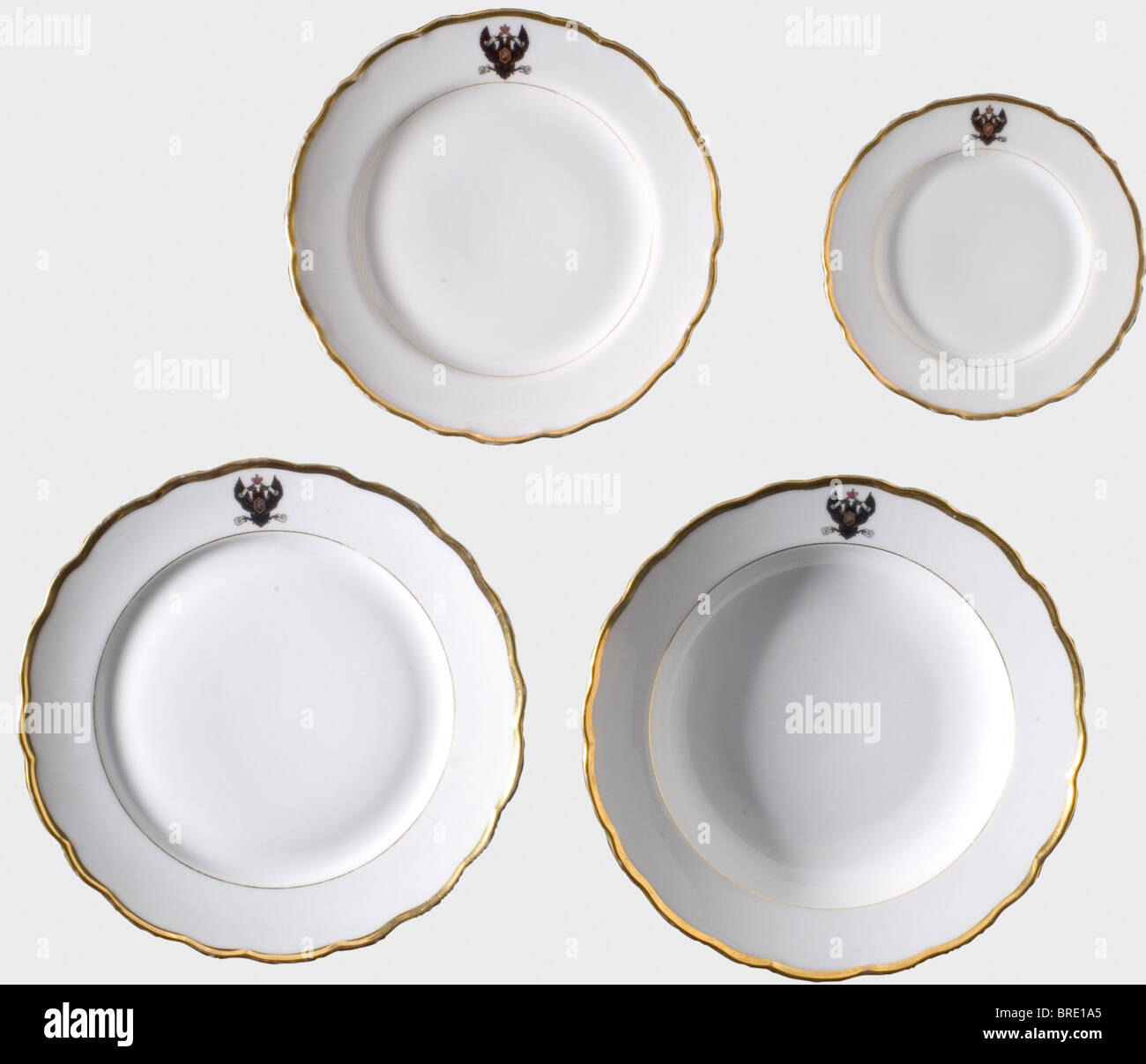 Imperial Russian Naval Ministry 20 plates from the table service Made at the Kornilov Brothers Manufactories in St. Petersburg  sc 1 st  Alamy & Imperial Russian Naval Ministry 20 plates from the table service ...