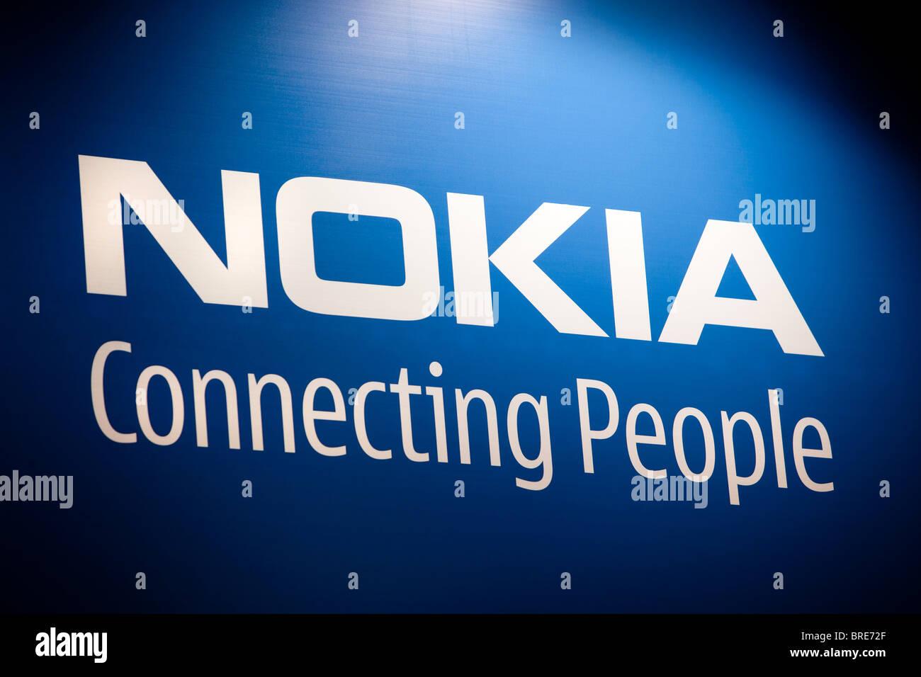 Nokia Logo Stock Photos Images