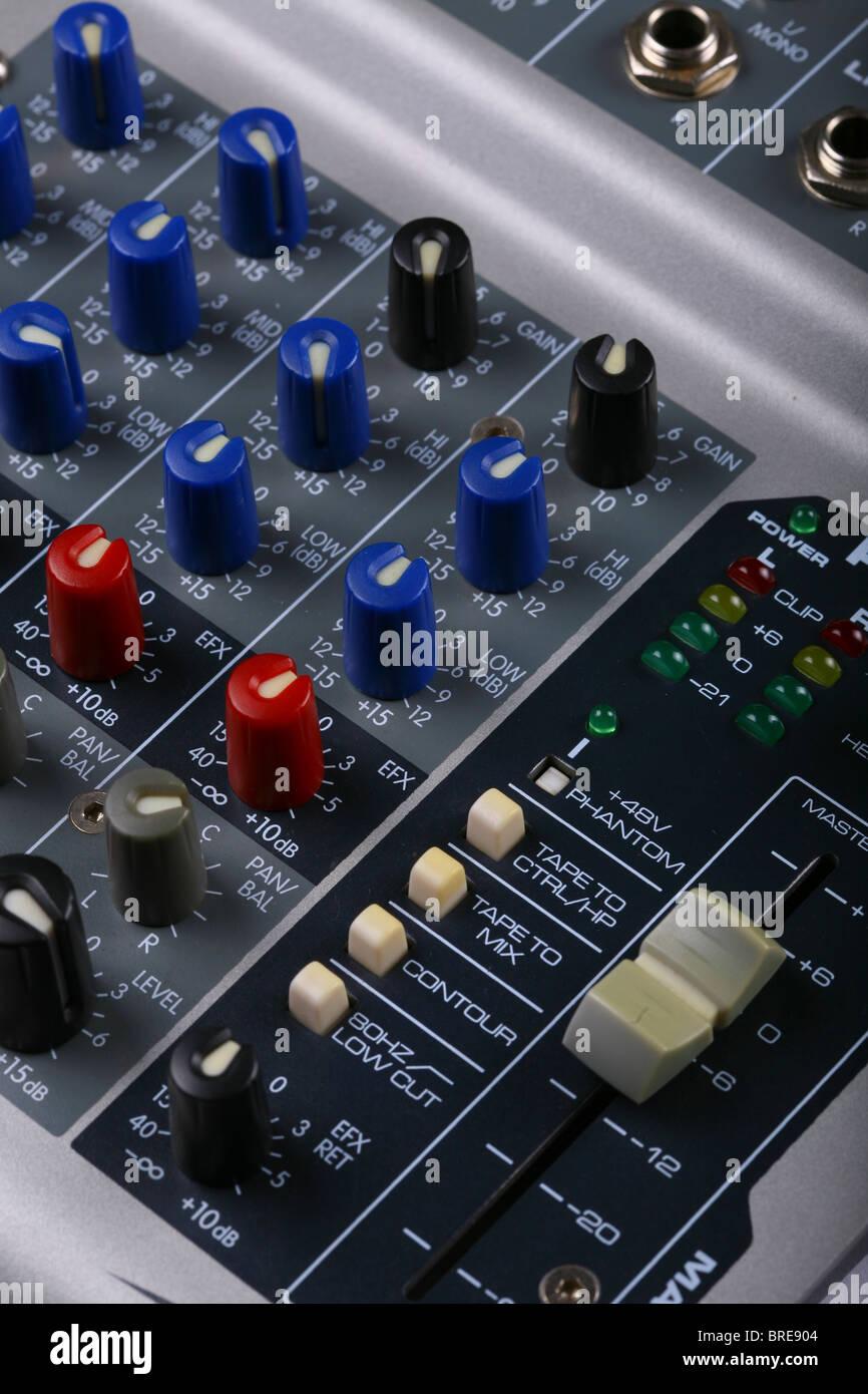 mixer - Stock Image