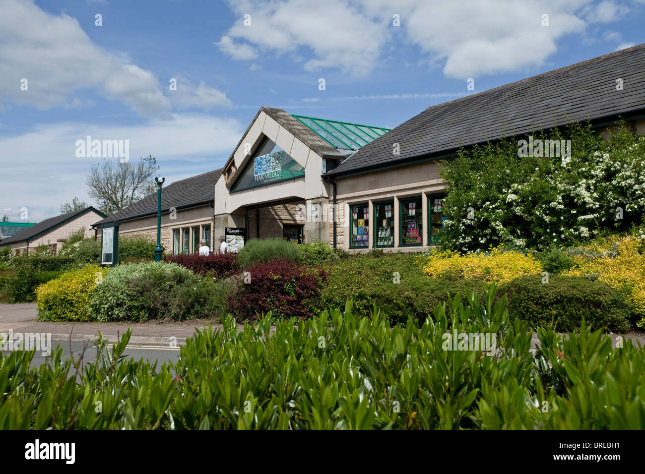 super popular d70e2 e2490 Shopping and retail outlet at Rowsley in the Derbyshire Peak ...