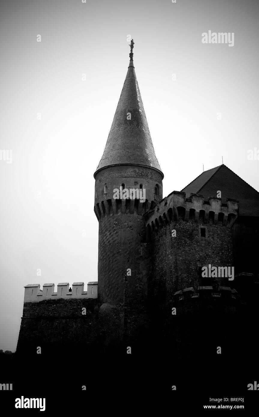 Romania, Transylvania - Corvin Castle - Stock Image