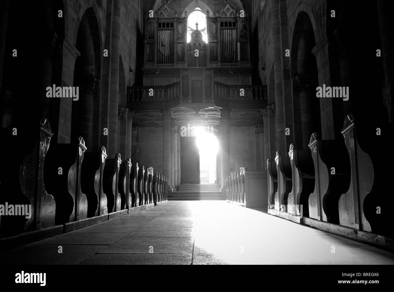 Romania, Transylvania Alba Iulia church - Stock Image