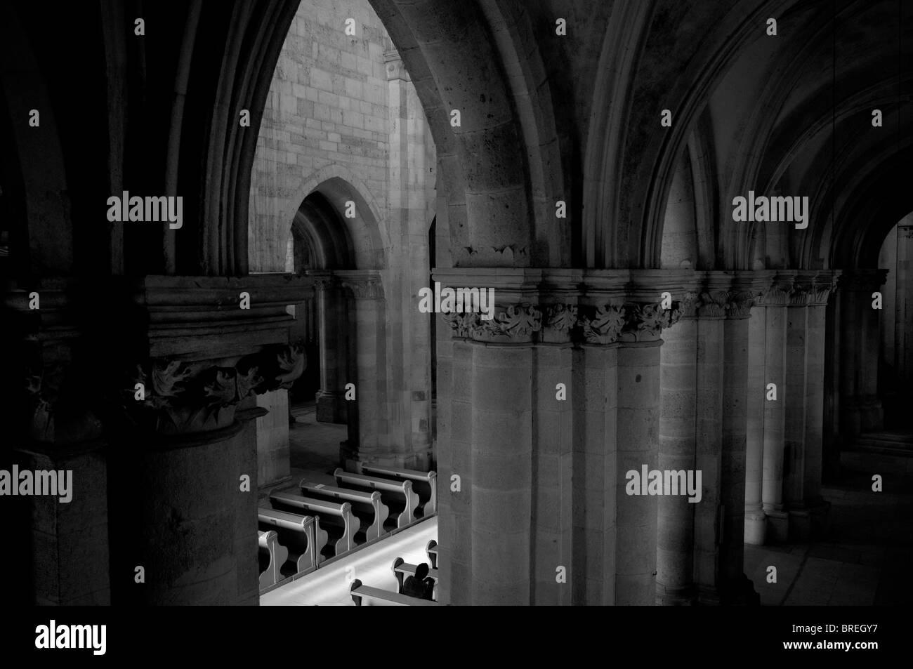 Romania, Transylvania Alba Iulia Cathedral - Stock Image