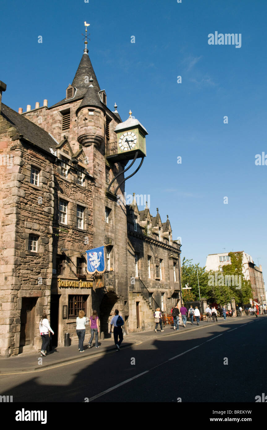 The Tolboth, People's Story Museum Royal Mile, Edinburgh. Stock Photo