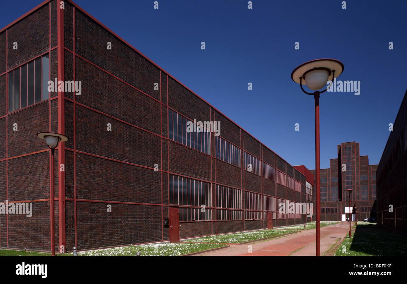 Red-Dot-Design-Museum, Zollverein Coal Mine, North Rhine-Westphalia, Germany, Europe - Stock Image