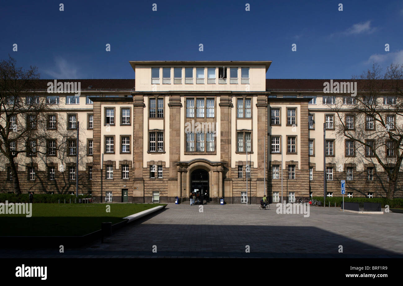 District and Municipal Court, Duisburg, Ruhr Area, North Rhine-Westphalia, Germany, Europe - Stock Image