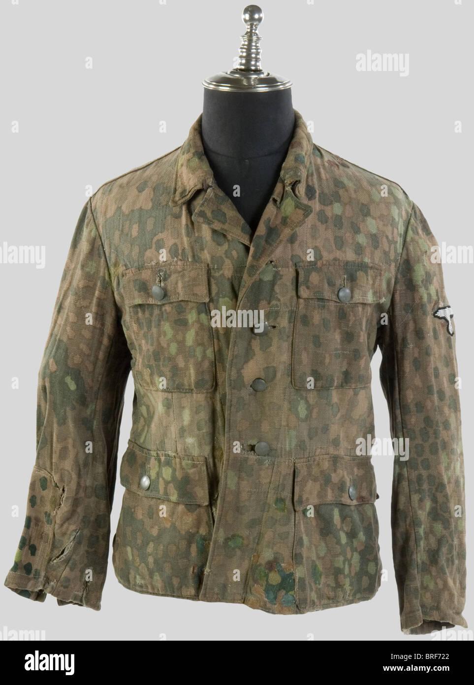Camouflage Dit Schutzstaffel La Waffen De Ss Veste Camouflé xqqzg0YO