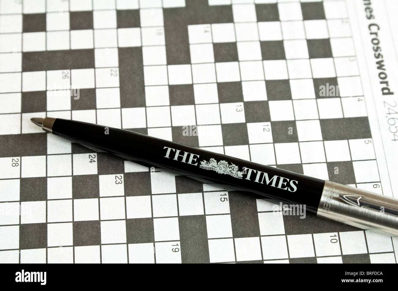 Crossword With A Parker