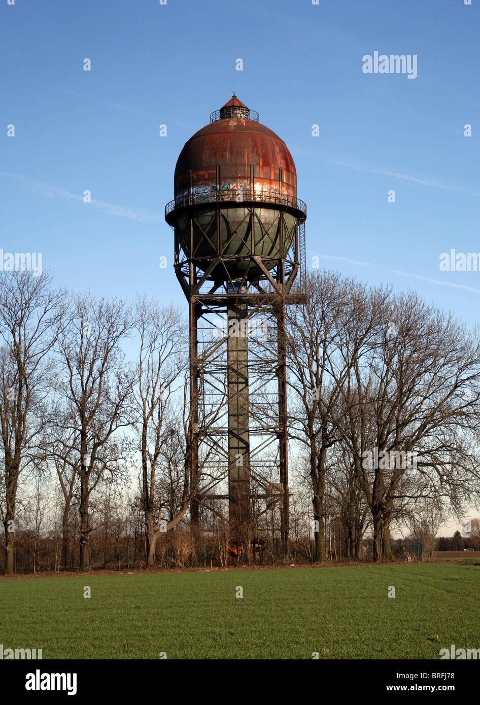 Lanstroper Ei water tower, Ruhr area, North Rhine-Westphalia, Germany, Europe - Stock Image
