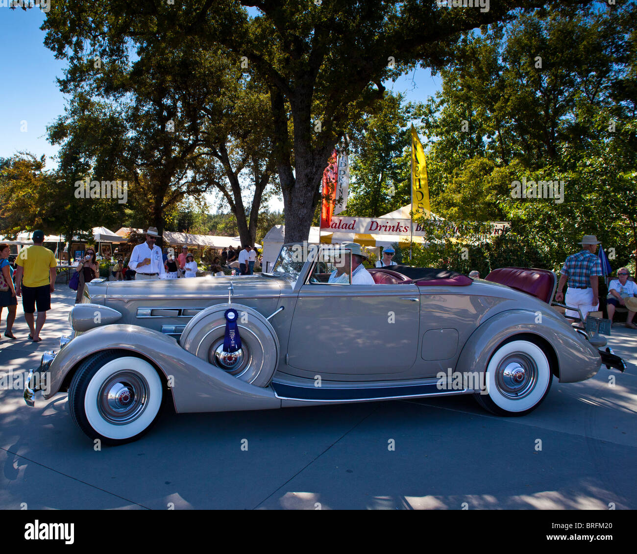Packard Convertible Stock Photos & Packard Convertible