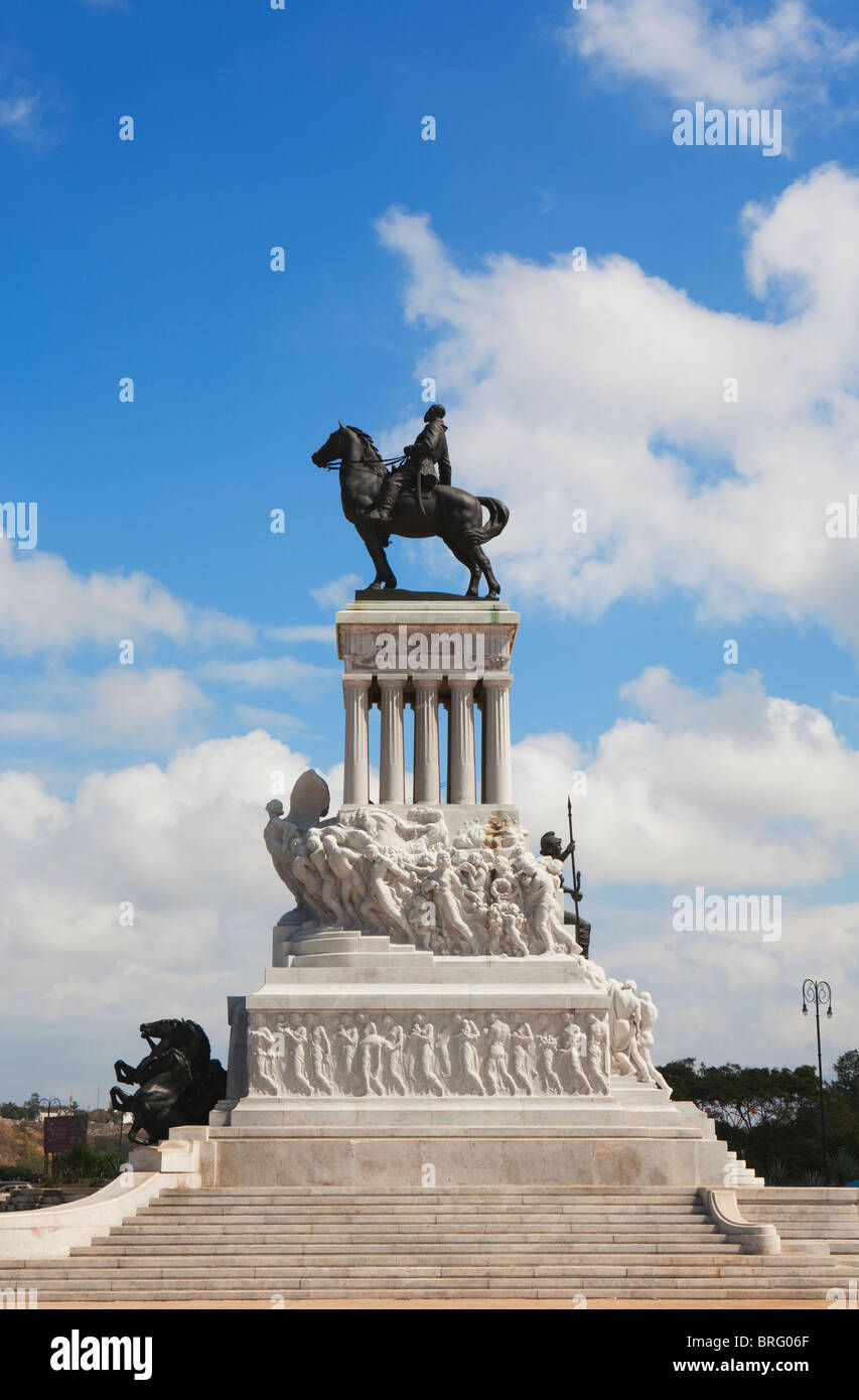 HAVANA: MONUMENTO A MAXIMO GOMEZ - Stock Image
