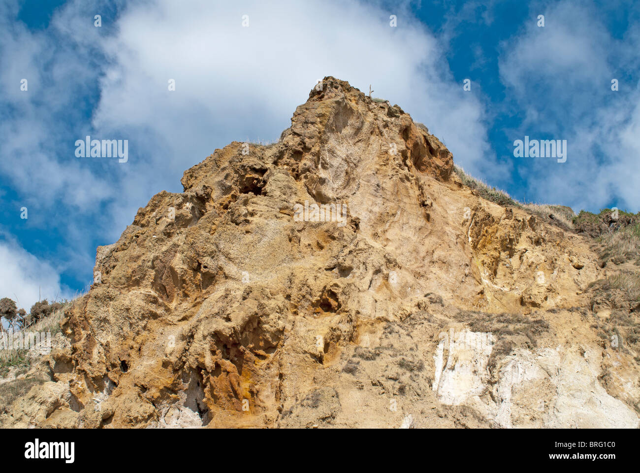 Sandstone Cliff - Stock Image