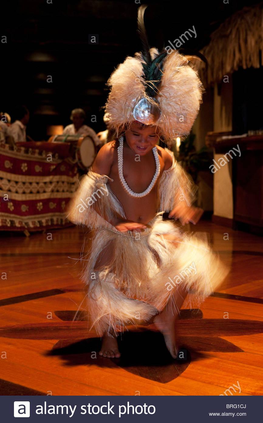Aitutaki in The Cook Islands - Stock Image